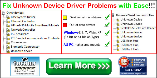 how to fix unknown usb device