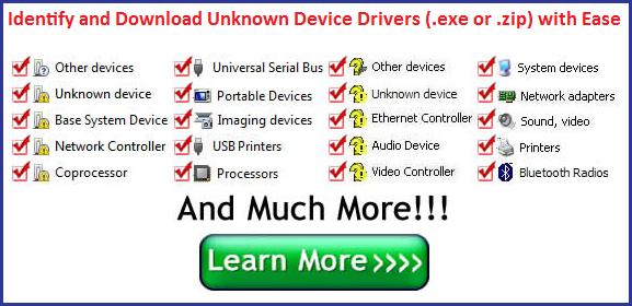 Unknown Device Driver Download Easy