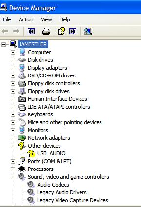 USB Unknown Device Device Manager