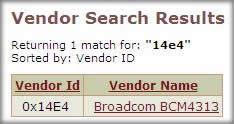 PCI Database 1