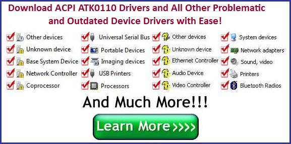 ACPI ATK0110 Driver Download Otomatis