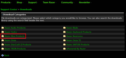 razer deathadder driver download